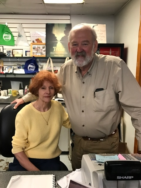 Books Along the Teche Owners Lorraine and Howard Kingston
