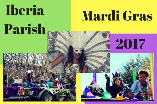 Iberia Parish Mardi Gras 2017
