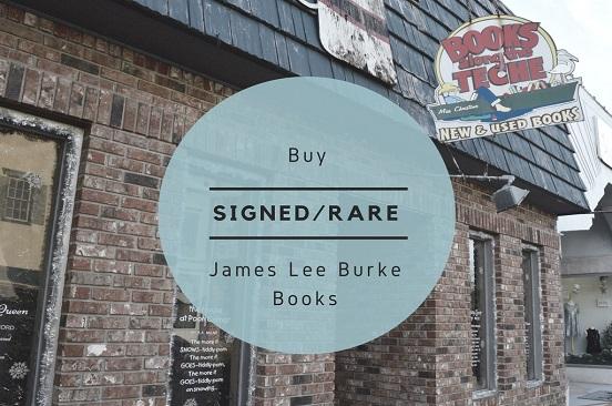 Buy Signed/Rare James Lee Burke Novels
