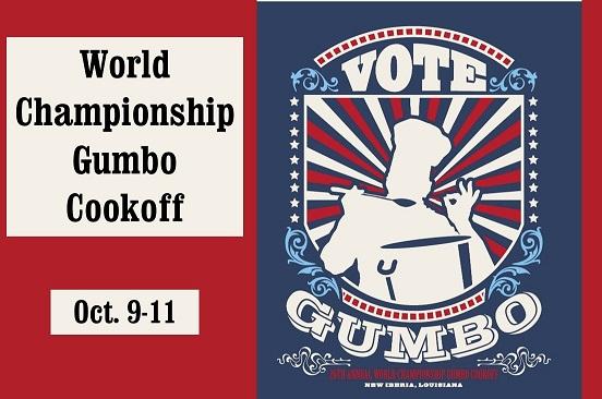 World Championship Gumbo Cookoff New Iberia, Louisiana