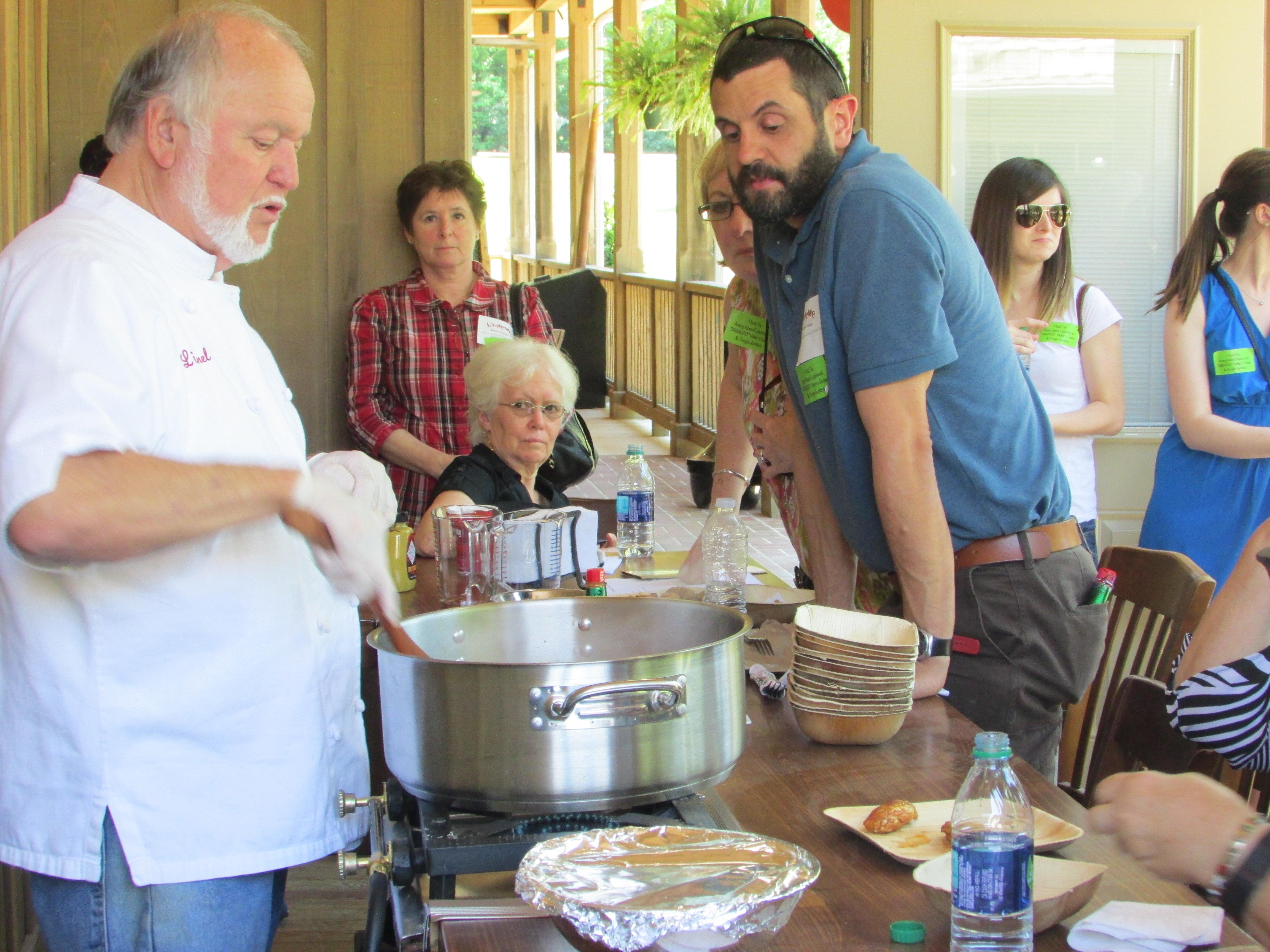 tabasco cooking classes chef lionel robin