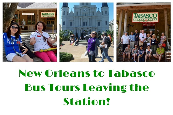New Orleans to Tabasco Bus Tours
