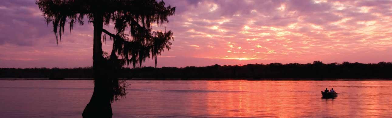 Fishing in Iberia Parish Louisiana