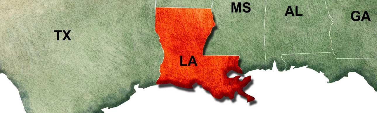 Getting Here - Iberia Parish Louisiana