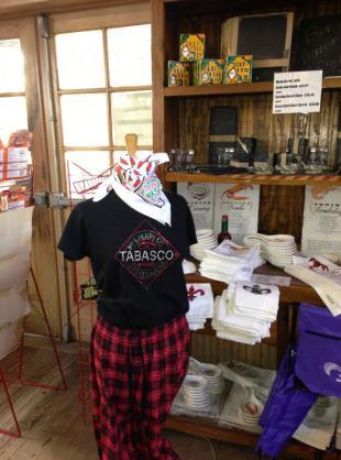 TABASCO Country Store Interior - Courtesy of Iberia Parish CVB