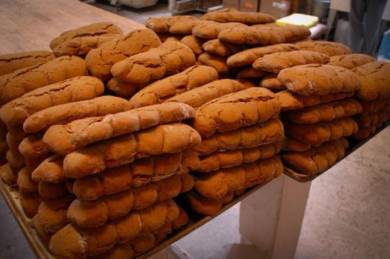 LeJeune's Bakery Ginger Cakes - Courtesy of Iberia Parish CVB