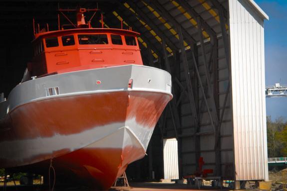 Ship Building in Loreauville - Courtesy of Iberia Parish CVB