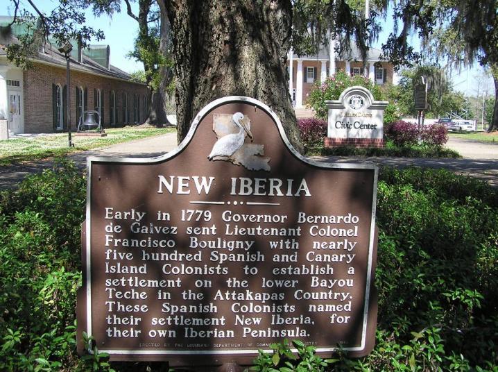 Welcome to New Iberia - Courtesy of Jane Braud