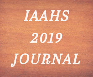 2019 Iberia African American Historical Society Journal