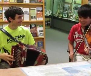 """Embedded thumbnail for """"Mama"""" Redell's Boys Play Cajun Music"""