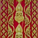 Carving at Laotian Temple - Courtesy of Iberia Parish CVB